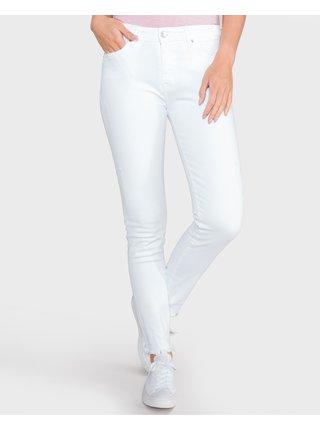 Slim fit pre ženy Tommy Hilfiger - biela