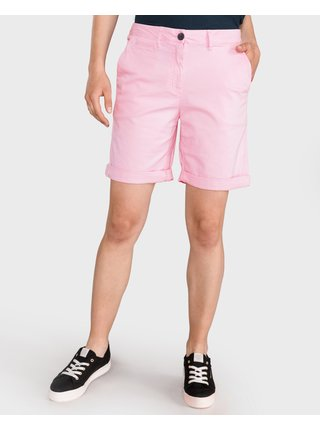 Kraťasy pre ženy Tommy Hilfiger - ružová