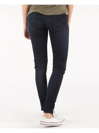 Skinny fit pre ženy Pepe Jeans - modrá