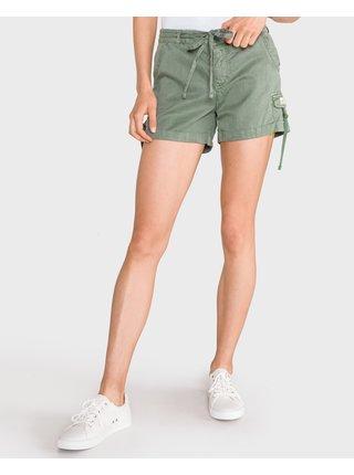 Kraťasy pre ženy Superdry - zelená