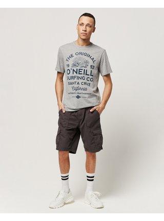 Kraťasy pre mužov O'Neill - čierna, hnedá