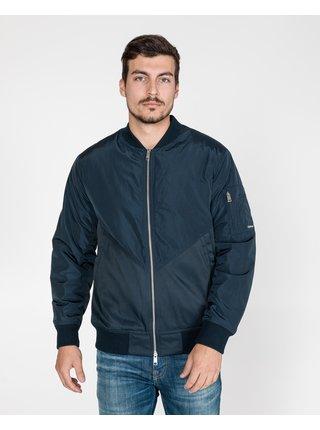 Ľahké bundy pre mužov Armani Exchange - modrá