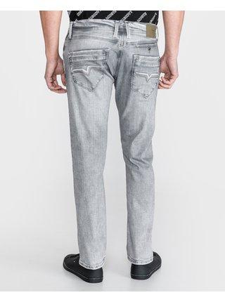 Straight fit pre mužov Pepe Jeans - sivá