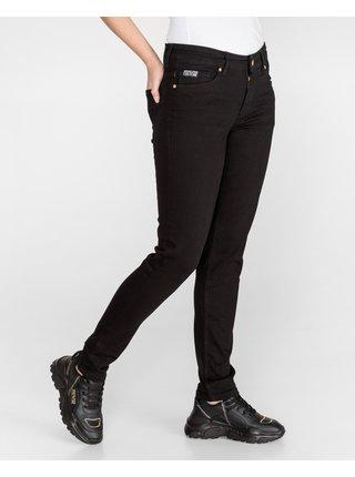 Skinny fit pre ženy Versace Jeans Couture - čierna