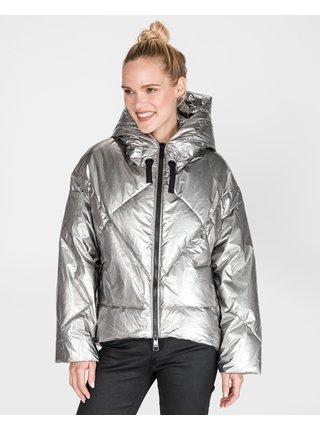 Zimné bundy pre ženy Liu Jo - strieborná