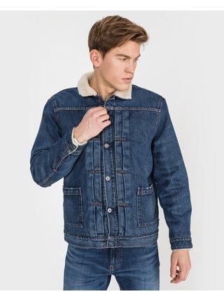 Ľahké bundy pre mužov Levi's® - modrá