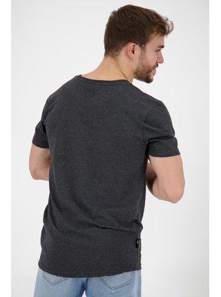 Černé pánské tričko s potiskem Alife and Kickin