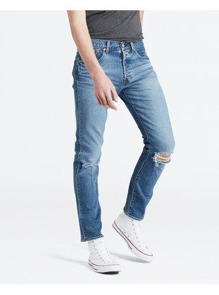 Slim fit pre ženy Levi's® - modrá
