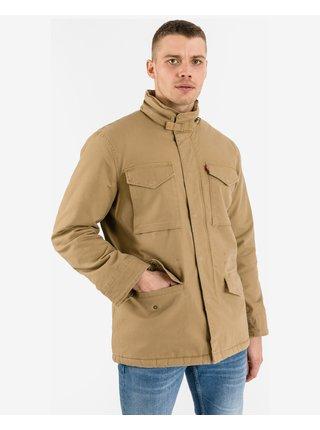 Kabáty pre mužov Levi's® - hnedá, béžová