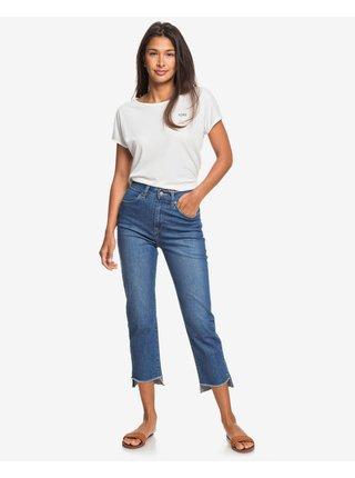 Slim fit pre ženy Roxy - modrá