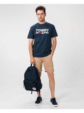 Kraťasy pre mužov Tommy Jeans - hnedá