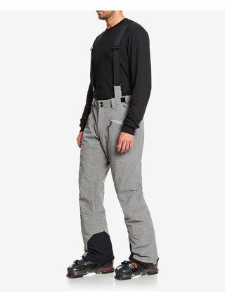 Nohavice a kraťasy pre mužov Quiksilver - sivá