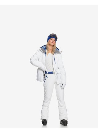 Zimné bundy pre ženy Roxy - biela