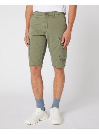 Kraťasy pre mužov Wrangler - zelená