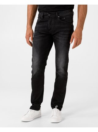 Slim fit pre mužov Diesel - čierna