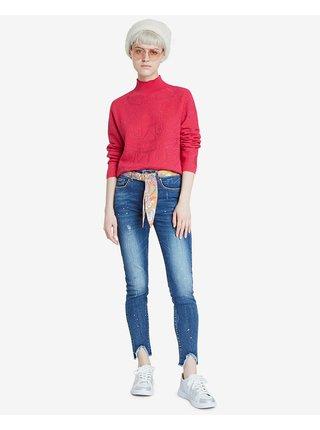 Denim Rainbow Jeans Desigual