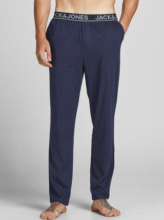Tmavomodré pyžamové nohavice Jack & Jones Tiki