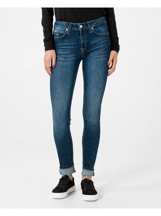 Skinny fit pre ženy Calvin Klein - modrá