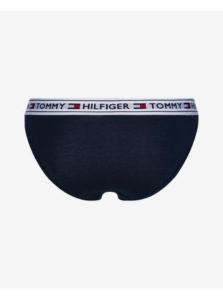 Nohavičky pre ženy Tommy Hilfiger - modrá