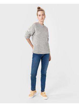 Slim fit pre ženy Replay - modrá