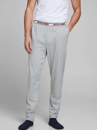 Svetlošedé pyžamové nohavice Jack & Jones Jones