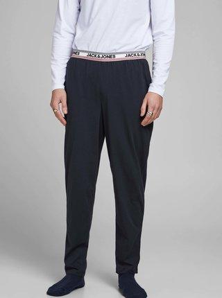 Tmavomodré pyžamové nohavice Jack & Jones Jones