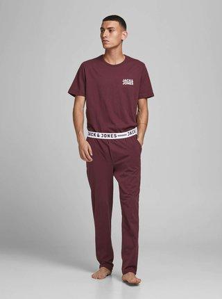 Pyžamá pre mužov Jack & Jones - vínová