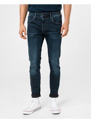 Straight fit pre mužov Pepe Jeans - modrá