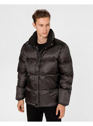 Zimné bundy pre mužov Replay - čierna
