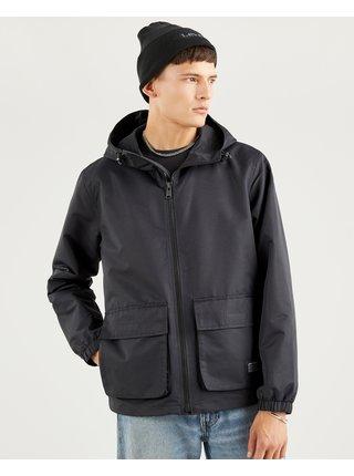 Zimné bundy pre mužov Levi's® - čierna