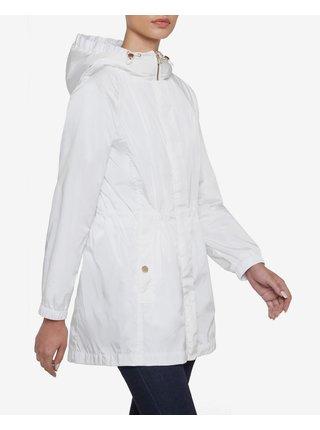 Ľahké bundy pre ženy Geox - biela