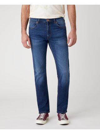 Straight fit pre mužov Wrangler - modrá