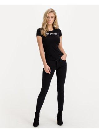 Skinny fit pre ženy Guess - čierna