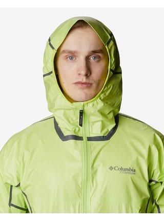 Ľahké bundy pre mužov Columbia - zelená