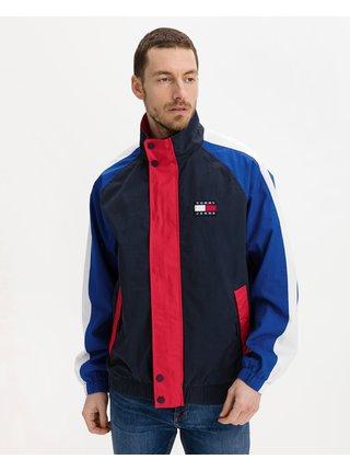 Ľahké bundy pre mužov Tommy Jeans - modrá, červená