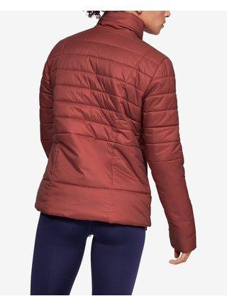 Zimné bundy pre ženy Under Armour - červená