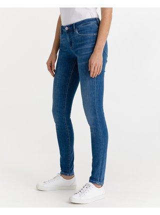 Skinny fit pre ženy Guess - modrá