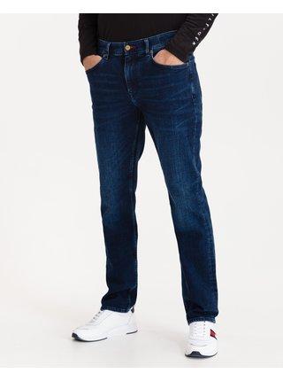 Straight fit pre mužov Tommy Hilfiger - modrá
