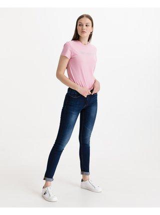 Skinny fit pre ženy ICHI - modrá