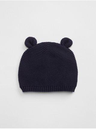 Doplňky - Dětská čepice organic bavlna brannan bear beanie Modrá