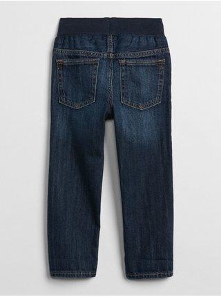 Modré klučičí džíny pull-on slim jeans with Washwell