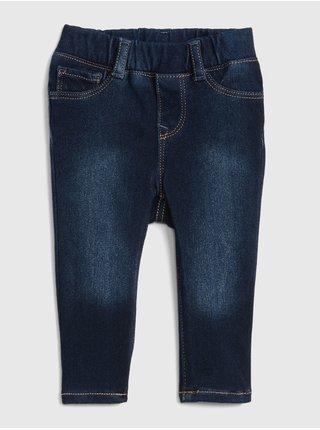 Modré holčičí džíny pull-on jeggings