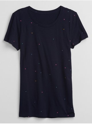 Modré dámské tričko Favorite Crewneck T-Shirt