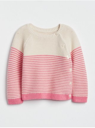 Růžový holčičí svetr brannan kimono sweater