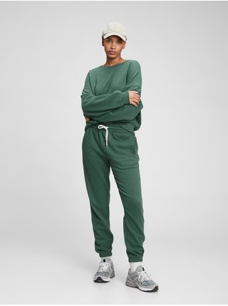 Zelené dámské tepláky vintage soft classic joggers
