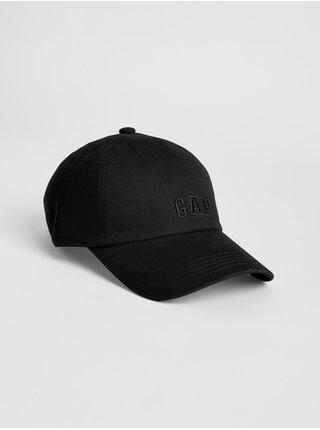 Černá pánská kšiltovka GAP Logo twill baseball hat