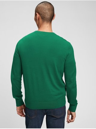Zelený pánský svetr everyday crewneck sweater