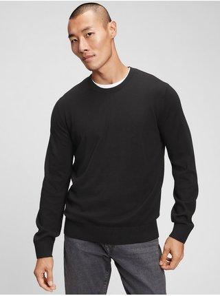 Černý pánský svetr everyday crewneck sweater