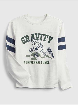 Zelené klučičí tričko Gravity hockey t-shirt