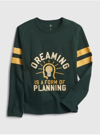 Zelené klučičí tričko Oreaming hockey t-shirt